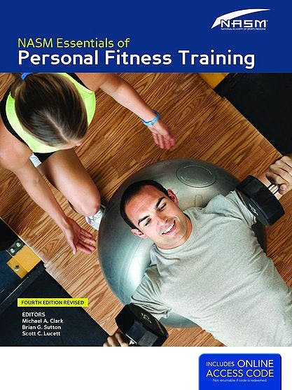 Portada del libro 9781284036800 NASM Essentials of Personal Fitness Training + Online Access