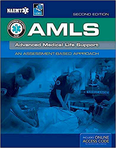 Portada del libro 9781284040920 AMLS. Advanced Medical Life Support. An Assesment-Based Approach