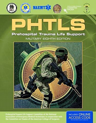 Portada del libro 9781284041750 PHTLS. Prehospital Trauma Life Support (Military Edition)