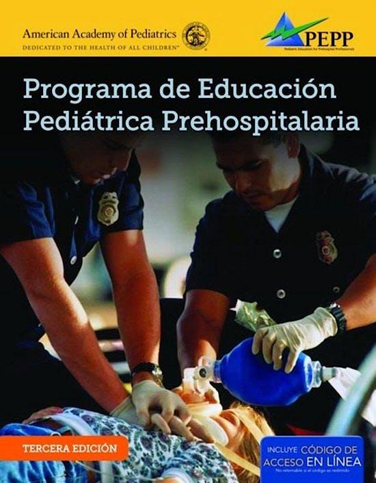 Portada del libro 9781284042610 Programa de Educación Pediátrica Prehospitalaria (PEPP)