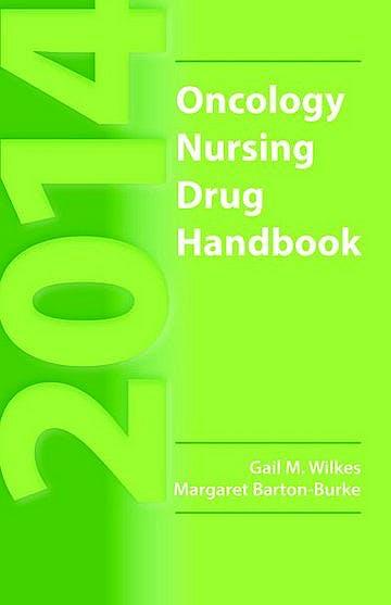 Portada del libro 9781284043938 Oncology Nursing Drug Handbook 2014