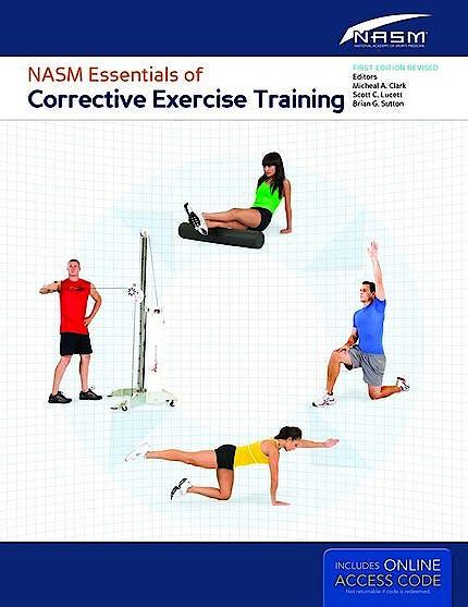 Portada del libro 9781284050257 NASM Essentials of Corrective Exercise Training + Online Access