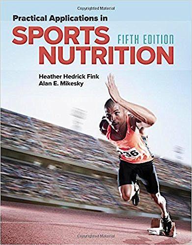 Portada del libro 9781284101393 Practical Applications in Sports Nutrition