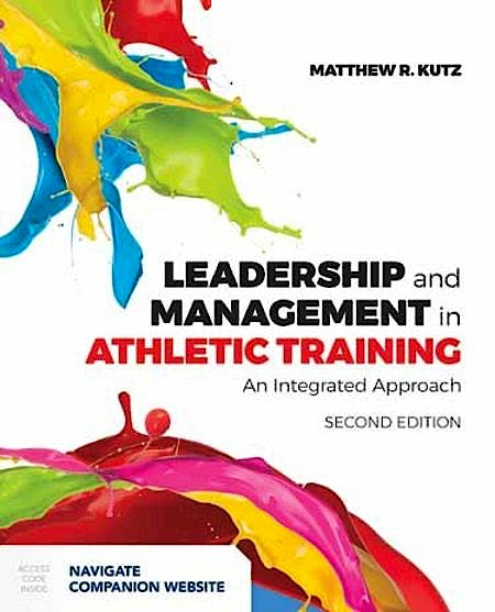 Portada del libro 9781284124880 Leadership and Management In Athletic Training