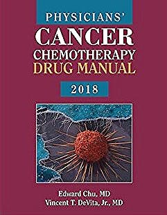 Portada del libro 9781284144963 Physicians' Cancer Chemotherapy Drug Manual 2018