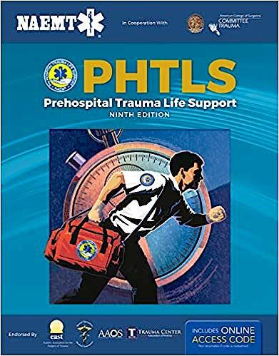 Portada del libro 9781284171471 PHTLS Prehospital Trauma Life Support. Textbook + Digital Access to Course Manual E-Book