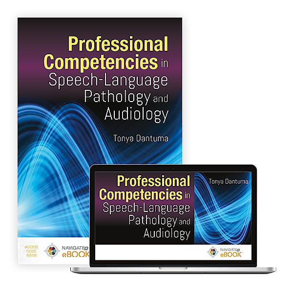Portada del libro 9781284174533 Professional Competencies in Speech-Language Pathology and Audiology