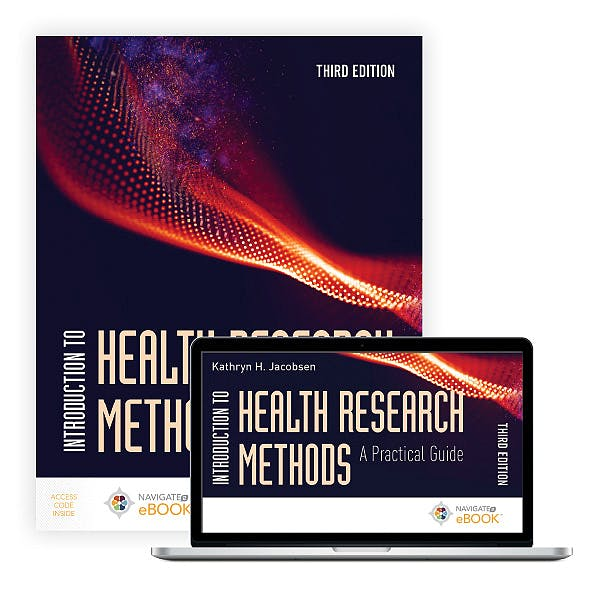 Portada del libro 9781284197563 Introduction to Health Research Methods. A Practical Guide