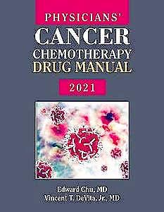 Portada del libro 9781284230130 Physicians' Cancer Chemotherapy Drug Manual 2021