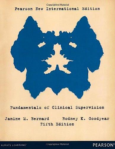 Portada del libro 9781292042077 Fundamentals of Clinical Supervision (New International Edition)