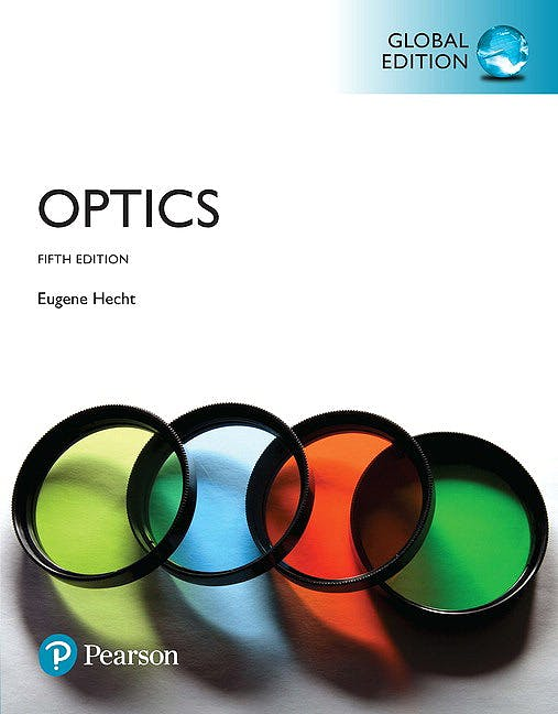 Portada del libro 9781292096933 Optics (Softcover)