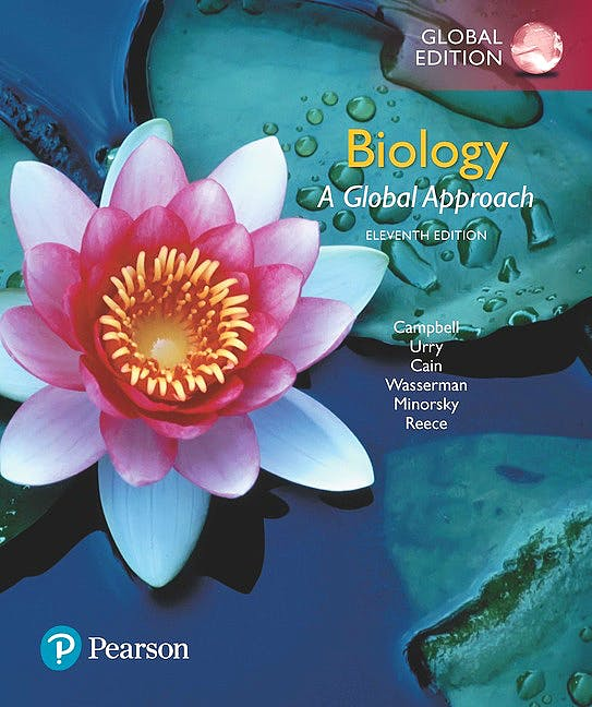 Portada del libro 9781292170435 Biology. A Global Approach (Global Edition)