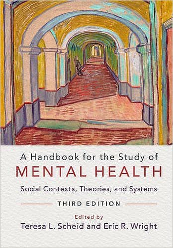 Portada del libro 9781316500965 A Handbook for the Study of Mental Health. Social Contexts, Theories, and Systems
