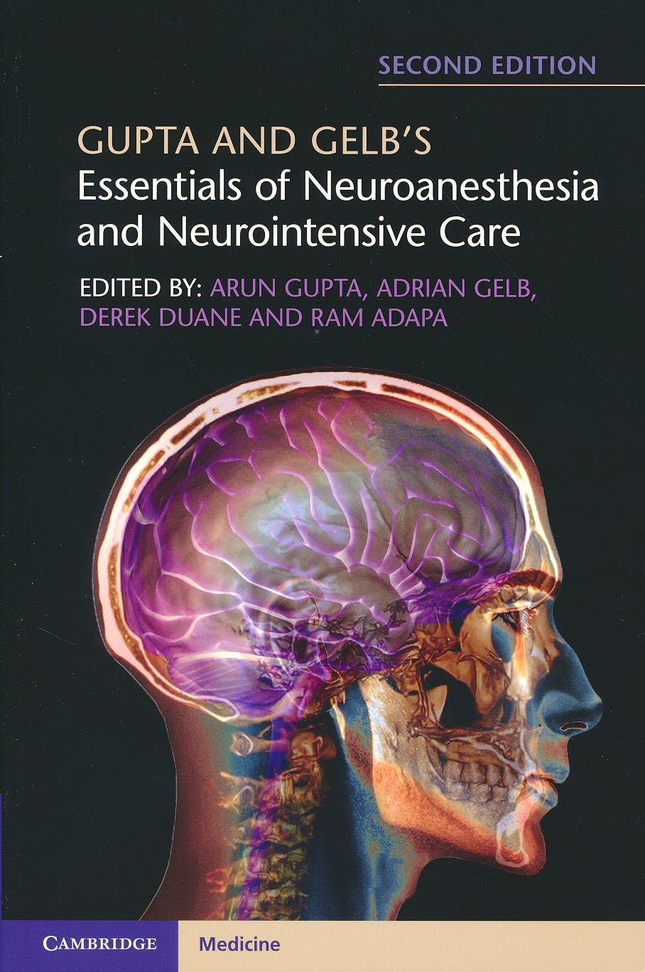 Portada del libro 9781316602522 Gupta and Gelb's Essentials of Neuroanesthesia and Neurointensive Care