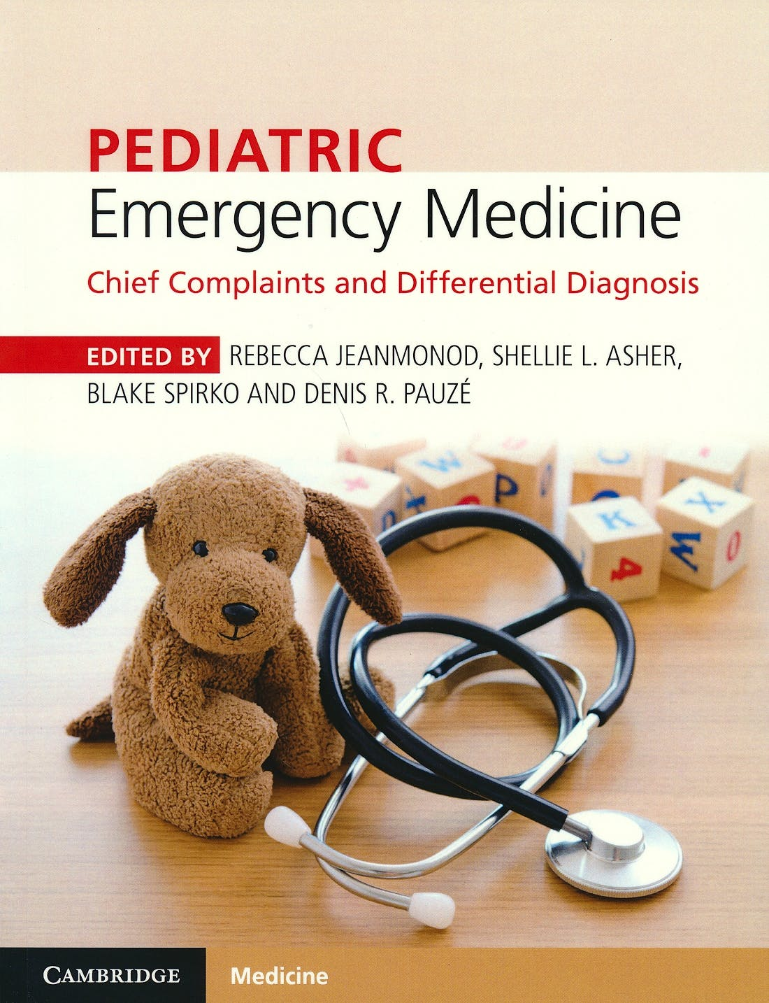 Portada del libro 9781316608869 Pediatric Emergency Medicine. Chief Complaints and Differential Diagnosis