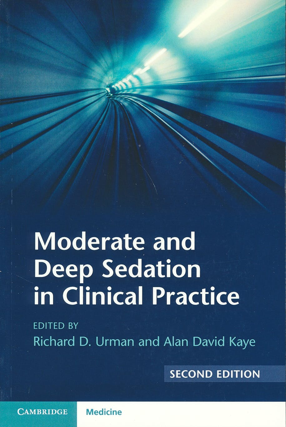 Portada del libro 9781316626641 Moderate and Deep Sedation in Clinical Practice