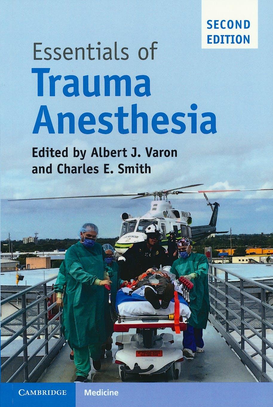Portada del libro 9781316636718 Essentials of Trauma Anesthesia