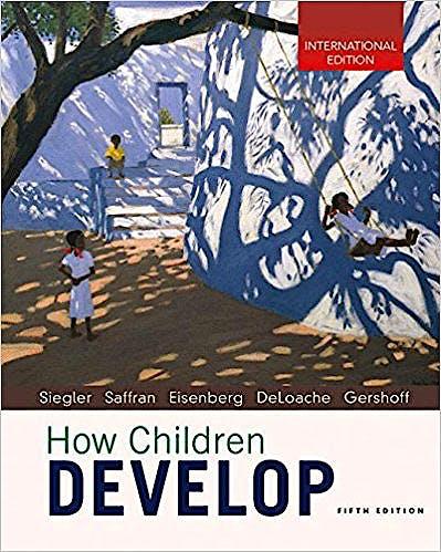 Portada del libro 9781352001358 How Children Develop