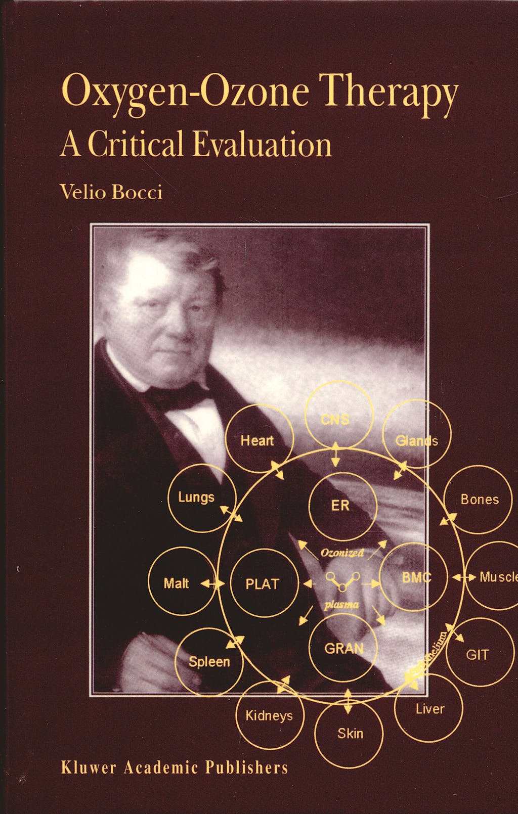 Portada del libro 9781402005886 Oxygen-Ozone Therapy. A Critical Evaluation