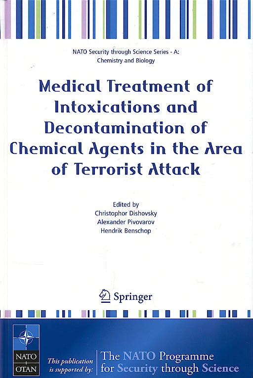 Portada del libro 9781402041686 Medical Treatment of Intoxications and Decontamination of Chemical Age