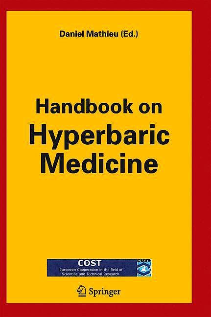 Portada del libro 9781402043765 Handbook on Hyperbaric Medicine