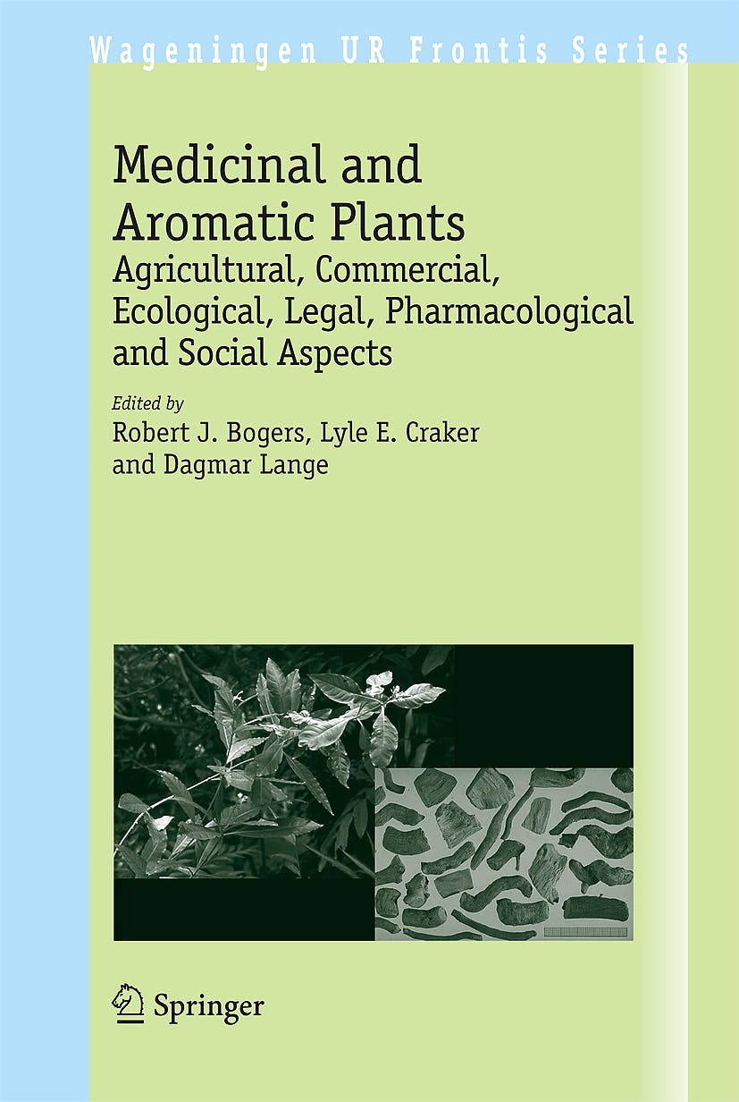 Portada del libro 9781402054488 Medicinal and Aromatic Plants