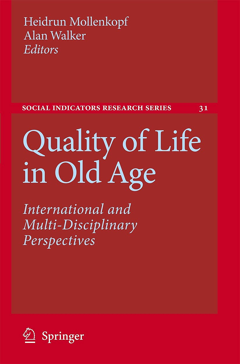 Portada del libro 9781402056819 Quality of Life in Old Age