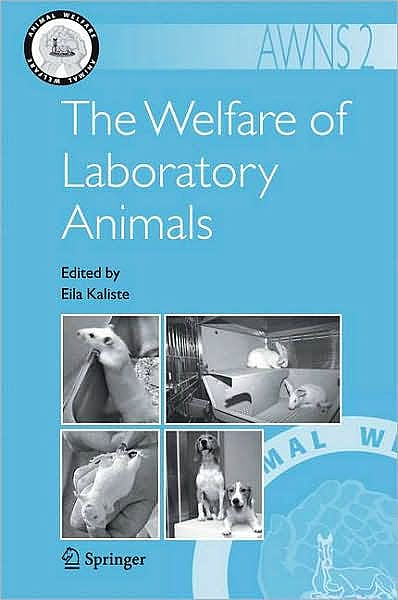 Portada del libro 9781402061363 The Welfare of Laboratory Animals (Animal Welfare, Vol. 2) (Softcover)