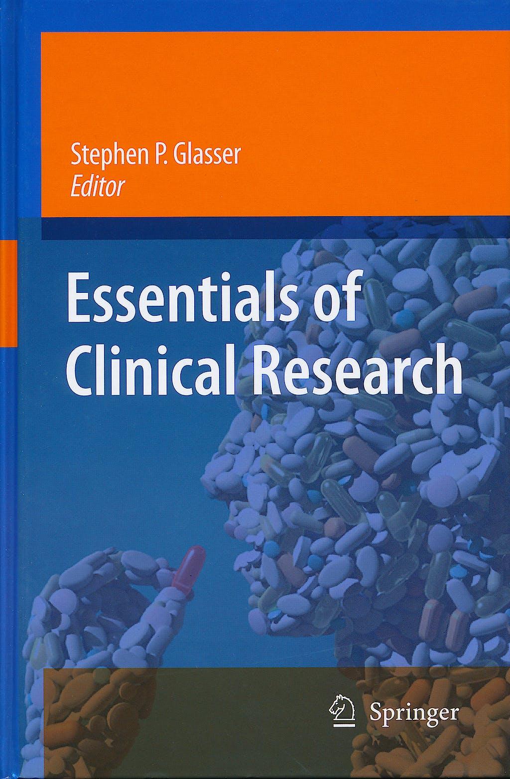Portada del libro 9781402084850 Essentials of Clinical Research