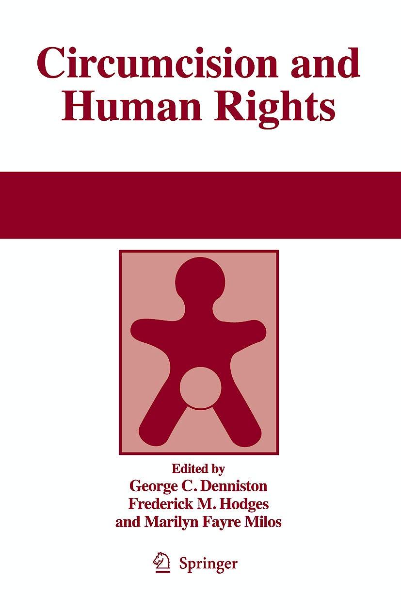 Portada del libro 9781402091667 Circumcision and Human Rights