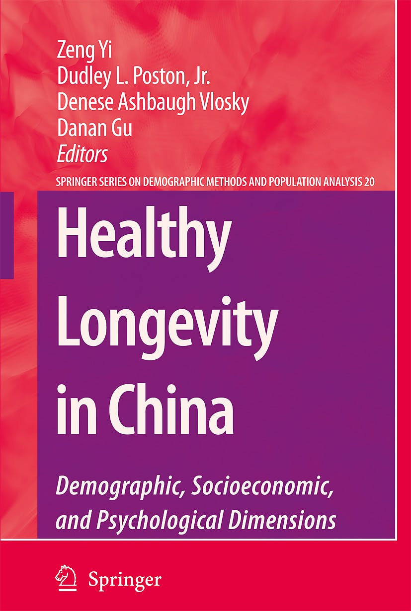 Portada del libro 9781402094781 Healthy Longevity in China
