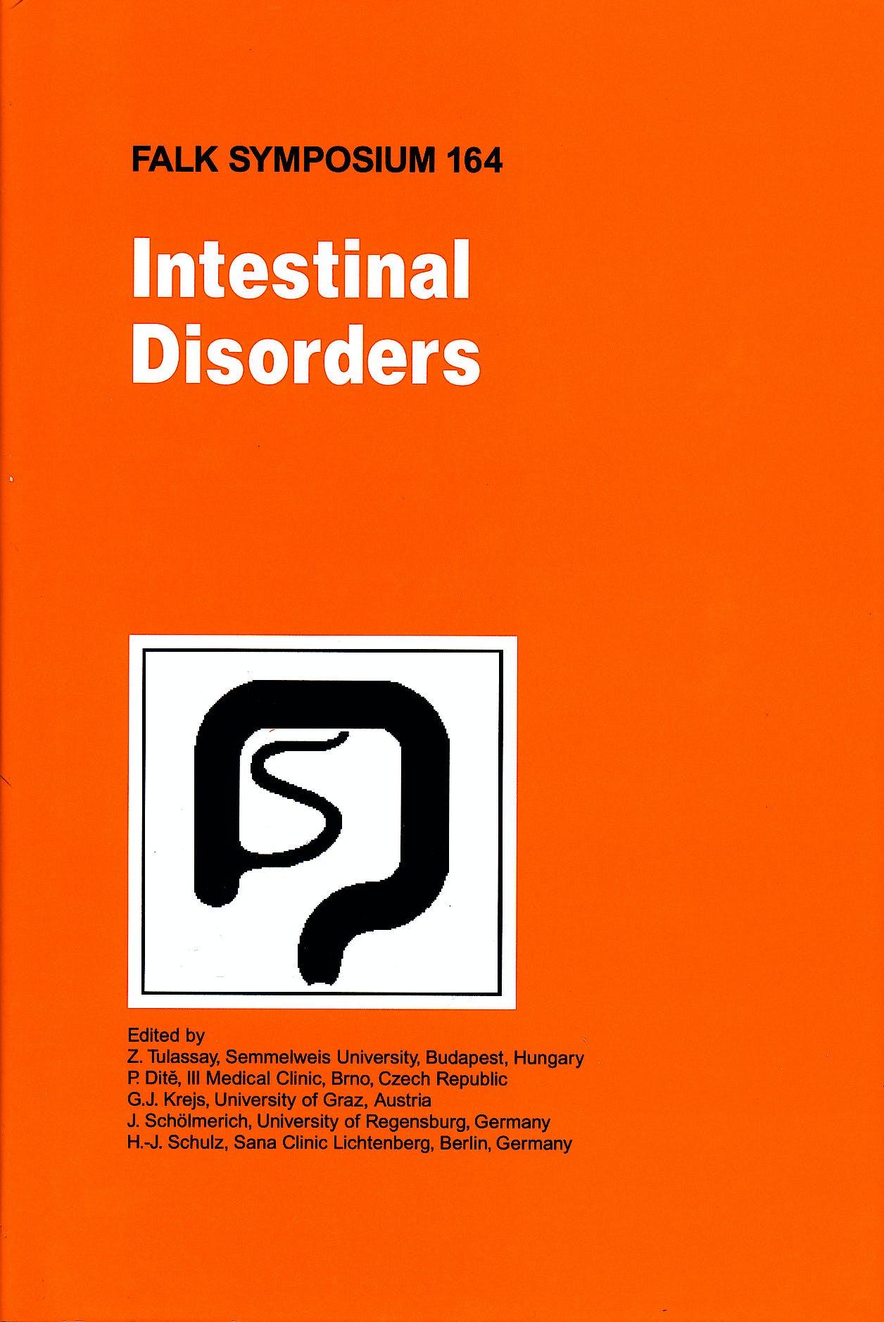 Portada del libro 9781402095900 Intestinal Disorders (Falk Symposium 164)
