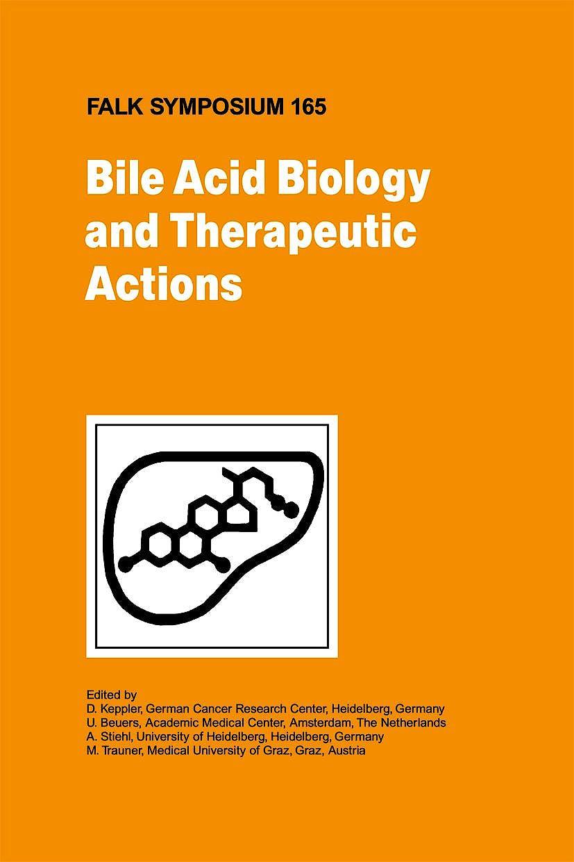 Portada del libro 9781402096433 Bile Acid Biology and Therapeutic Actions