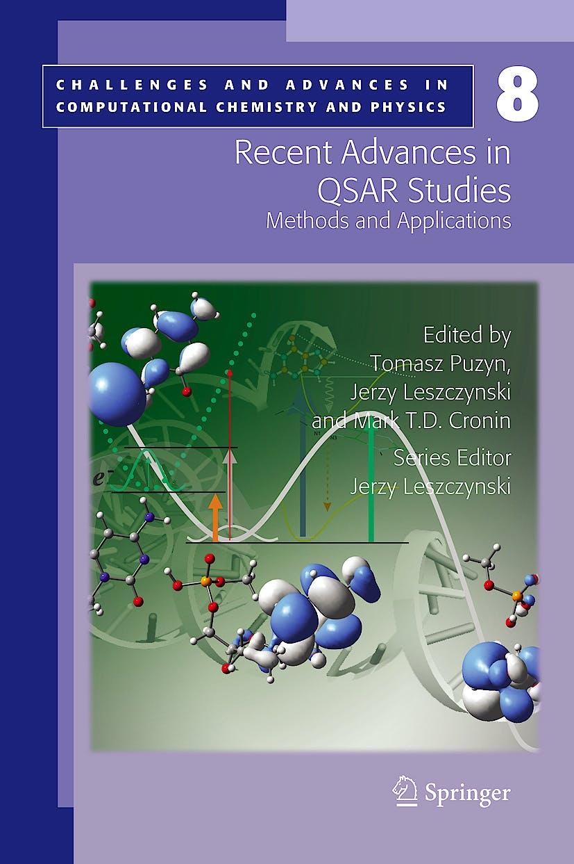 Portada del libro 9781402097829 Recent Advances in Qsar Studies, Vol. 8