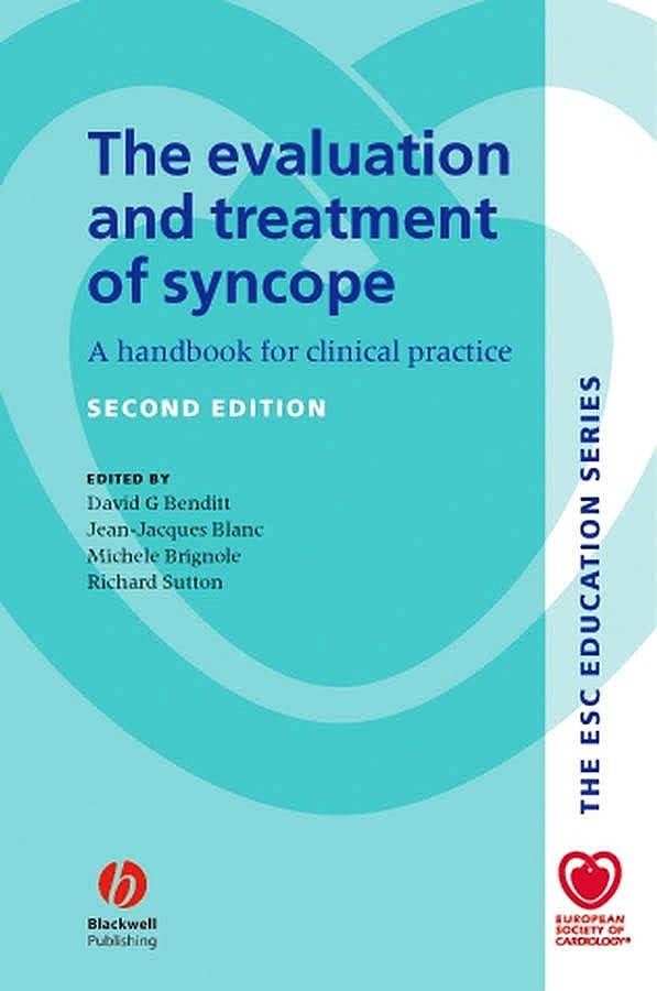 Portada del libro 9781405103749 The Evaluation and Treatment of Syncope