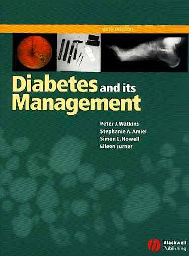 Portada del libro 9781405107259 Diabetes and Its Management