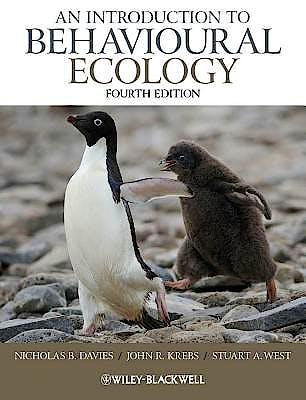 Portada del libro 9781405114165 An Introduction to Behavioural Ecology