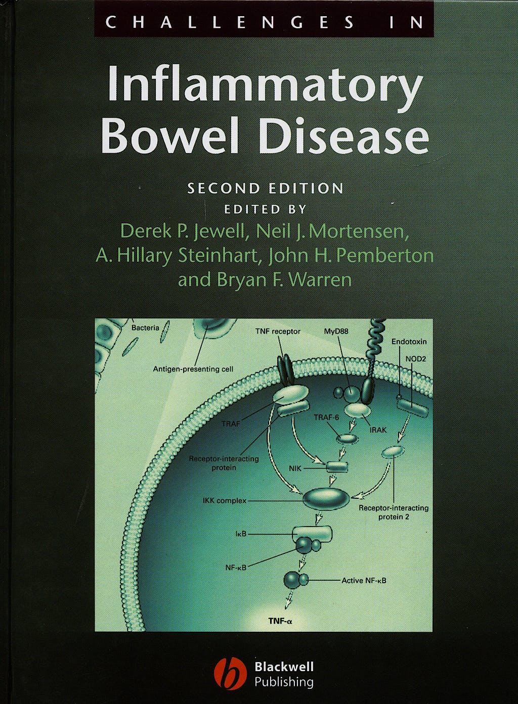 Portada del libro 9781405122344 Challenges in Inflammatory Bowel Disease