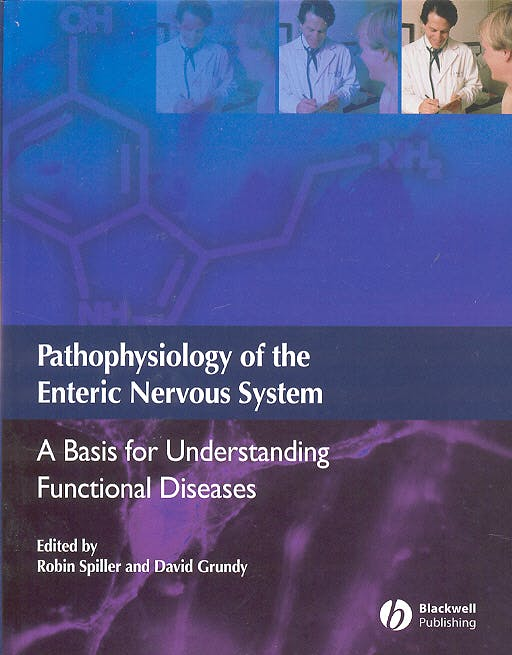Portada del libro 9781405123617 Pathophysiology of the Enteric Nervous System