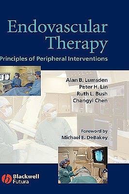 Portada del libro 9781405124232 Endovascular Therapy. Principles of Peripheral Interventions