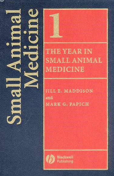 Portada del libro 9781405131940 The Year in Small Animal Medicine, Vol. 1