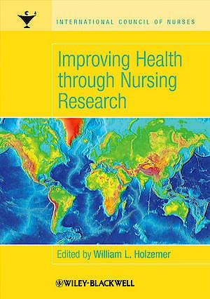 Portada del libro 9781405134118 Improving Health through Nursing Research