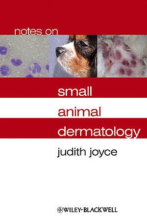 Portada del libro 9781405134972 Notes on Small Animal Dermatology