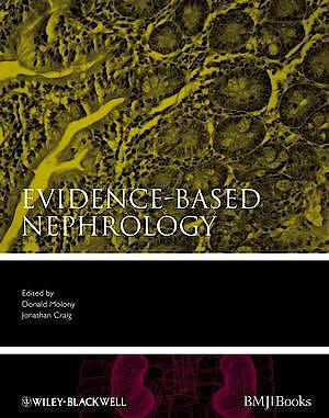 Portada del libro 9781405139755 Evidence-Based Nephrology