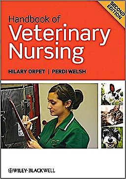 Portada del libro 9781405145534 Handbook of Veterinary Nursing