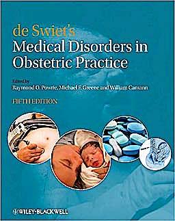 Portada del libro 9781405148474 De Swiet's Medical Disorders in Obstetric Practice