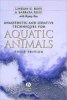 Portada del libro 9781405149389 Anaesthetic and Sedative Techniques for Aquatic Animals