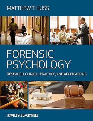 Portada del libro 9781405151382 Forensic Psychology