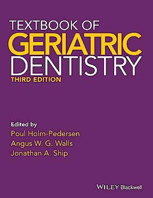 Portada del libro 9781405153645 Textbook of Geriatric Dentistry