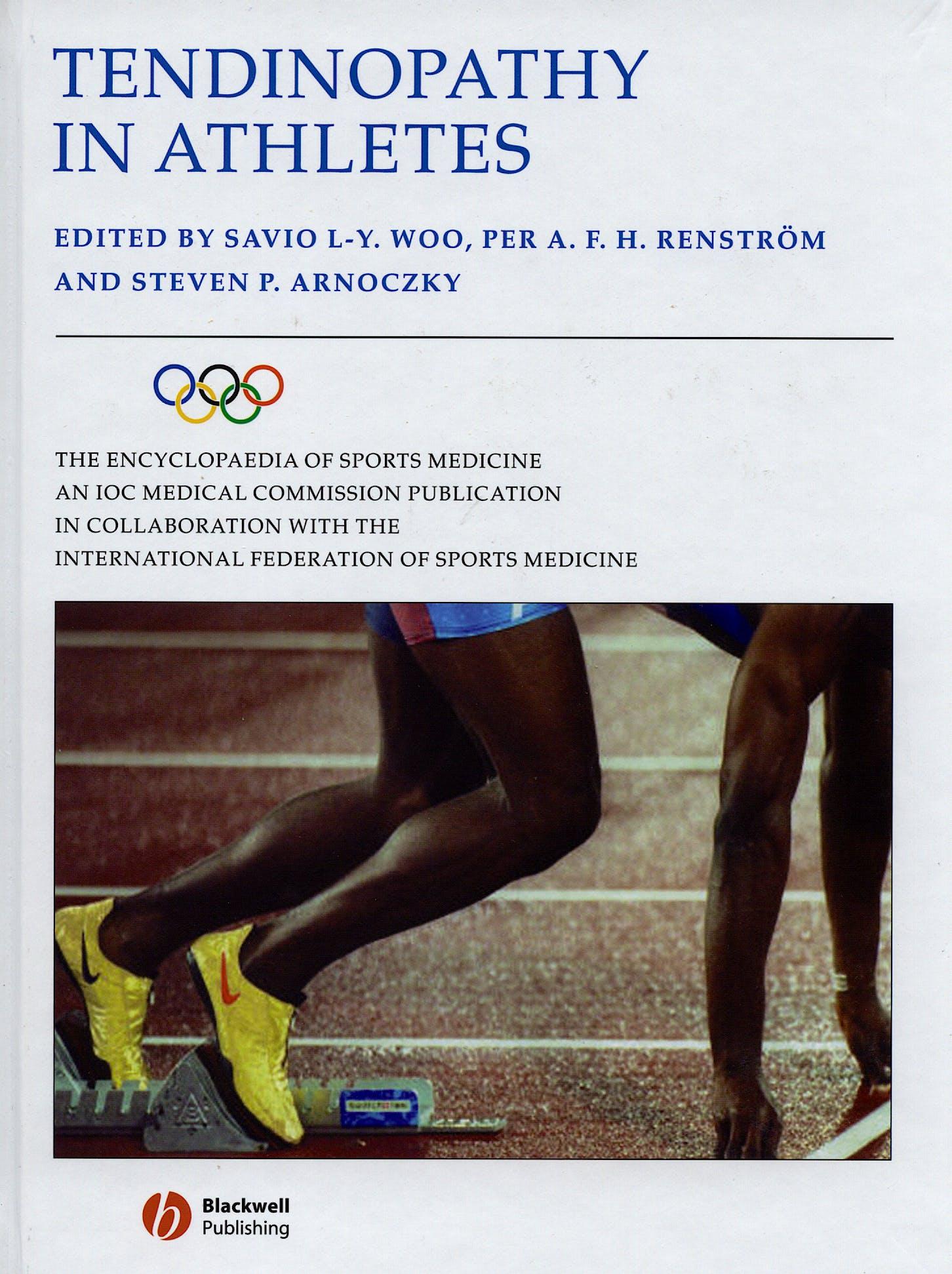 Portada del libro 9781405156707 Tendinopathy in Athletes